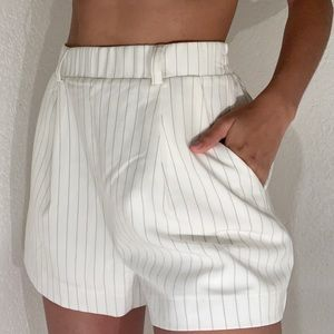 WHITE FORMAL SHORTS!